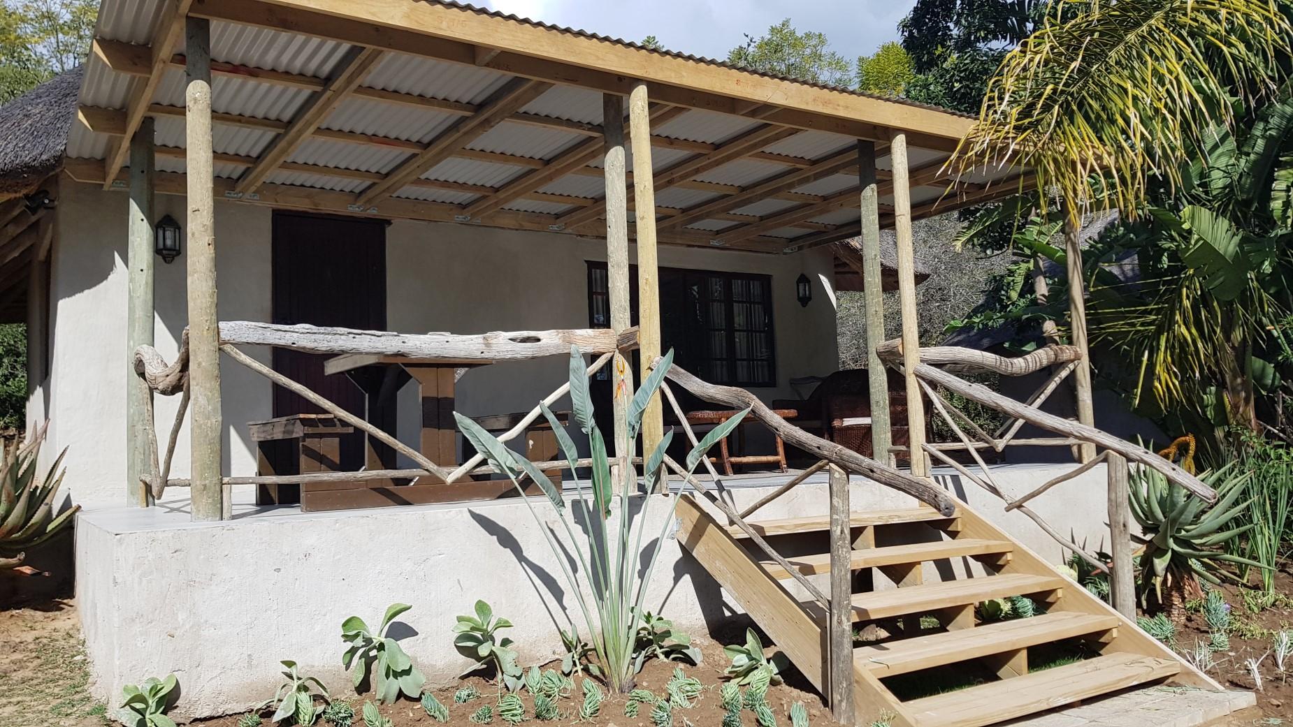 Chalet 1 verandah