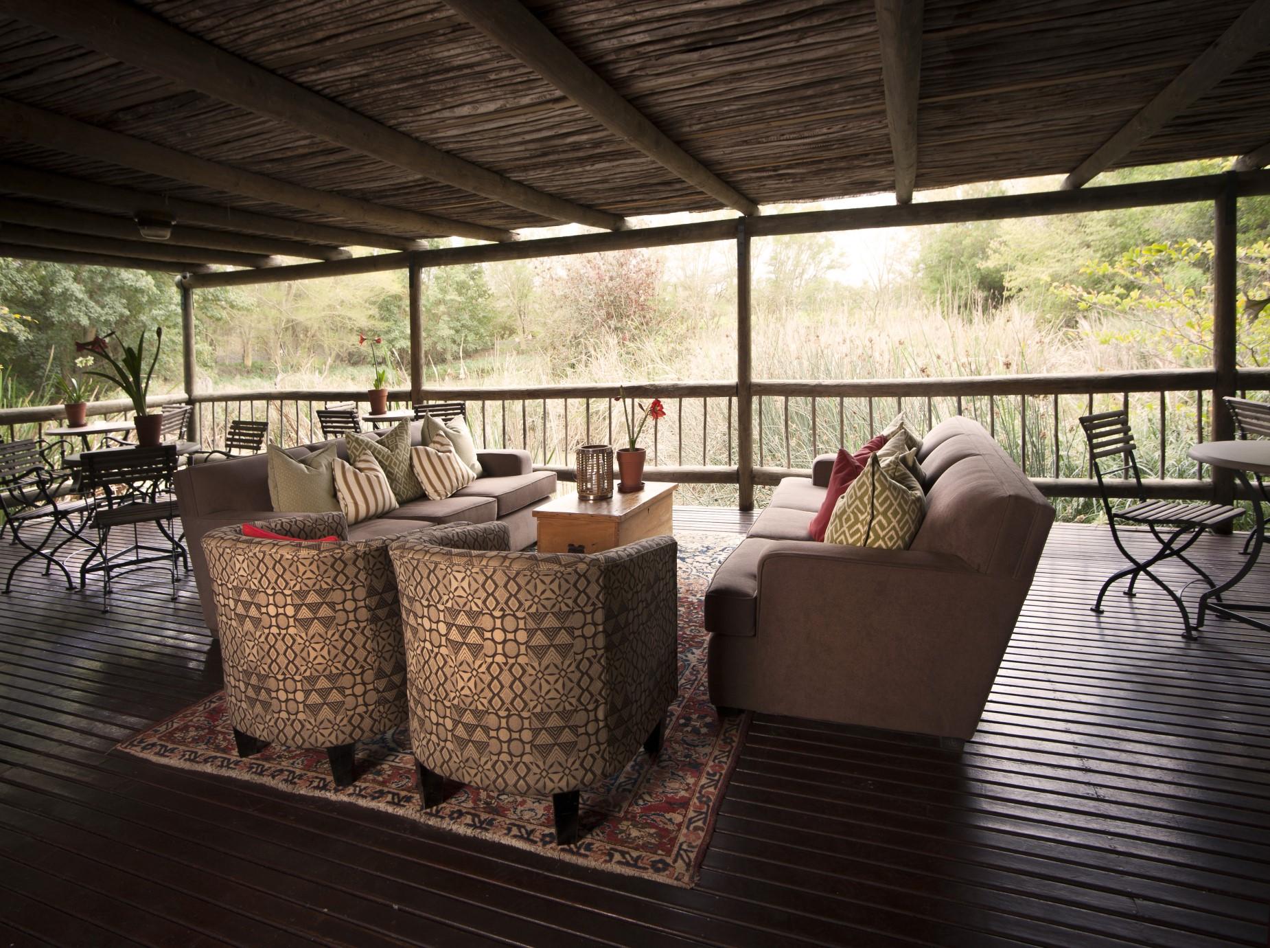 Exterior Deck Area